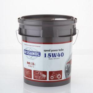 Nissanol Speed Power Turbo – 15w40 (CH-4)