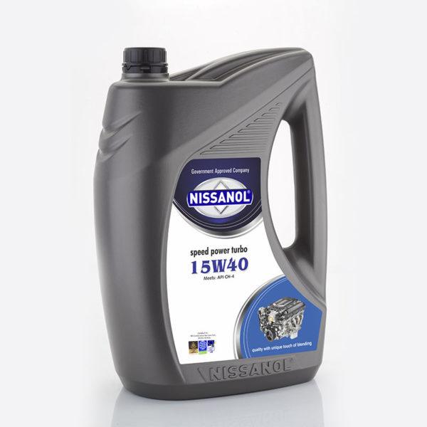 NISSANOL SPEED POWER TURBO - 15W40 (CH-4) - 5 LTR