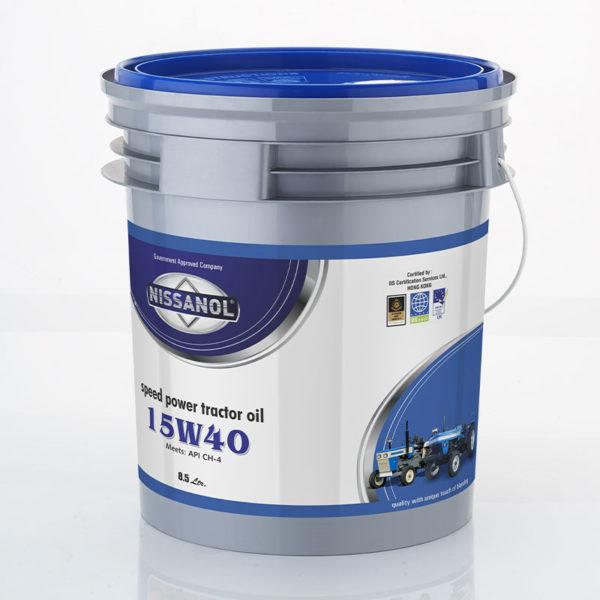 NISSANOL SPEED POWER TURBO - 15W40 (CH-4) - 8.5 LTR