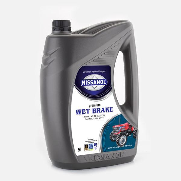 Nissanol utto wet break premium oil - 5 ltr
