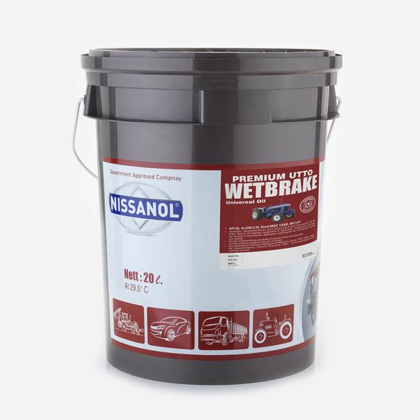 Nissanol Utto Wet Break Premium Oil